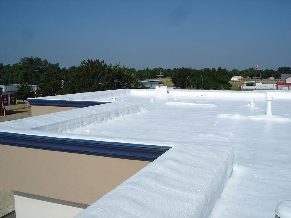 spray foam commercial roofing services in Colorado
