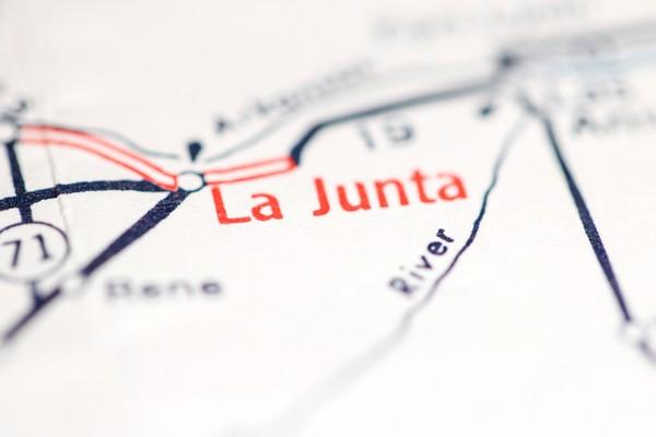 Map of La Junta CO.
