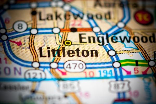 Map of Littleton CO.