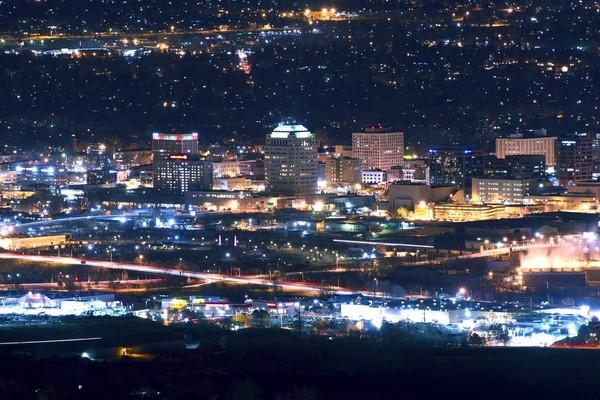 Downtown Colorado Springs CO.